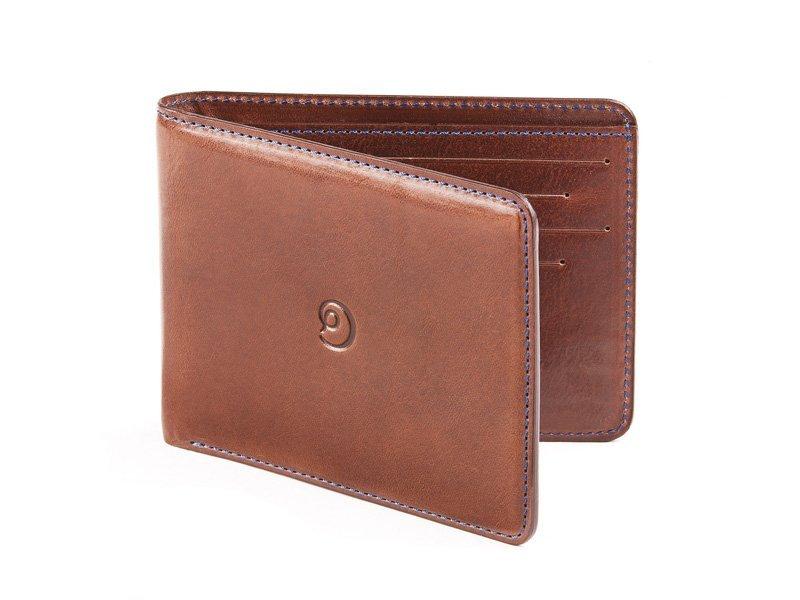 Kožená ultra tenká peněženka