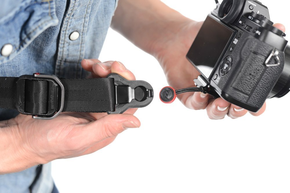 Rychloupínací popruh SlideLITE pro menší fotoaparáty