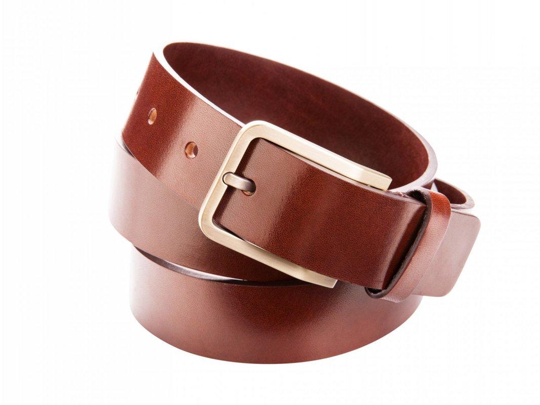 Pánský kožený pásek