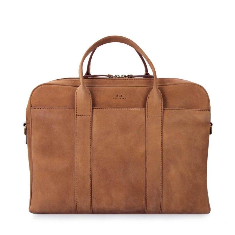 Kožená taška na notebook The Harvey Maxi