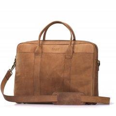 Business kožená taška The Harvey - světle hnědá ECO-camel