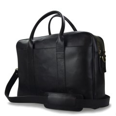 Business kožená taška The Harvey Maxi - černá ECO-black