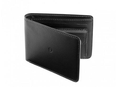 Ultra tenká pánská kožená peněženka