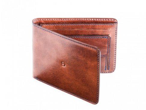 Pánská kožená slim peněženka