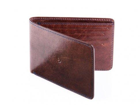 Kožená pánská slim peněženka