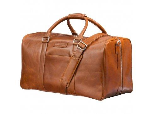 Pánská kožená weekender taška