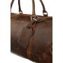 Kožená cestovní taška na víkend