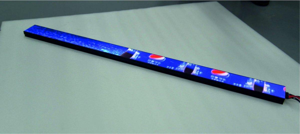 Led dispaly regalový 1000x60mm