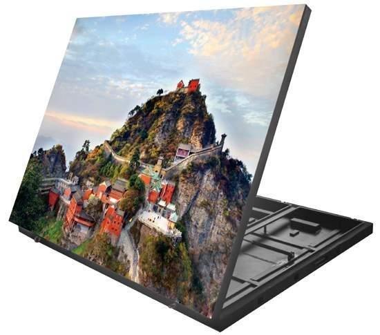 Vnitřní a vnější obrazovky pro montáž na stěnu P5