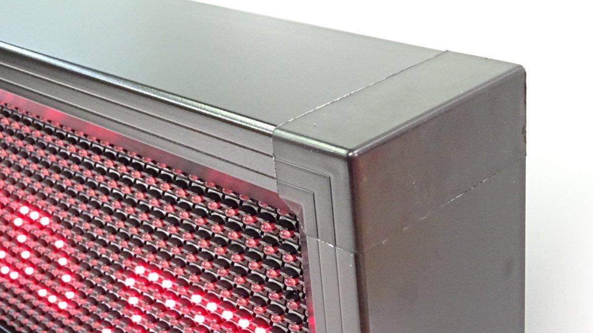 Led cedule vnitřní vnější P10 96x16cm červená