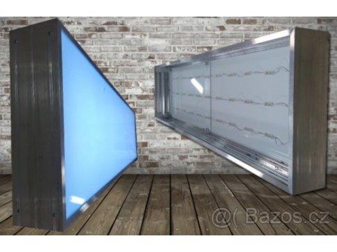 Světelný box libovolný rozměr Cena za 1m2