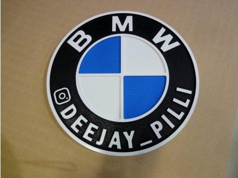 Plastové 3D logo