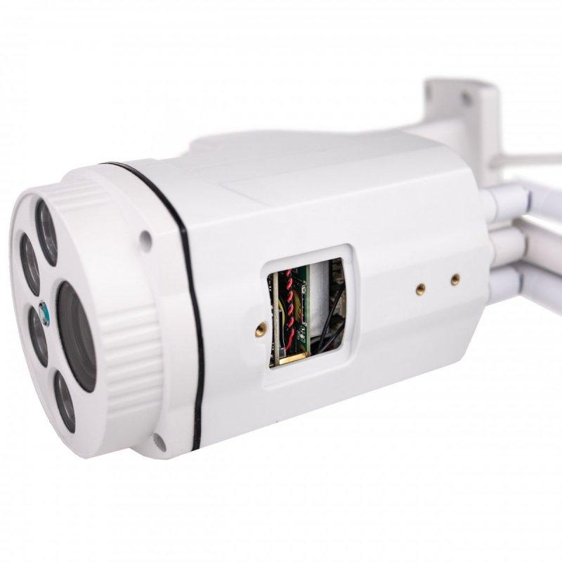 4G otočná IP kamera se záznamem Secutek SBS-NC47G - 1080p, 50m IR, 4x zoom