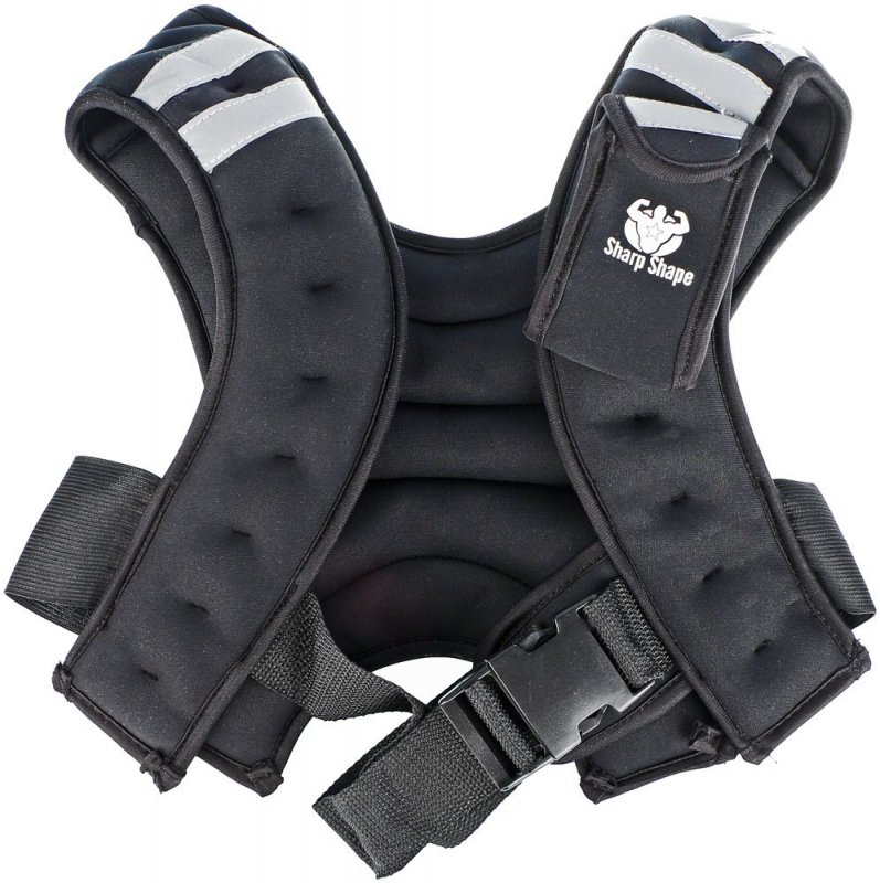 Sharp Shape Weight vest Black
