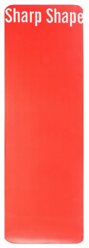 Sharp Shape Mat Red