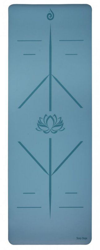 Sharp Shape PU Yoga mat Shanti
