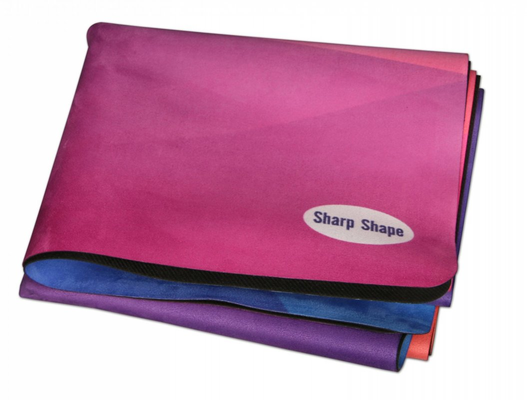 Sharp Shape Microfibre travel mat Crystal