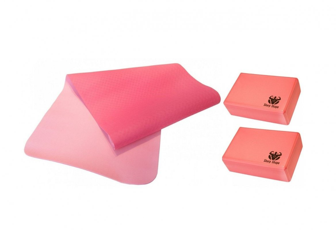 Sharp Shape Yoga starter set red