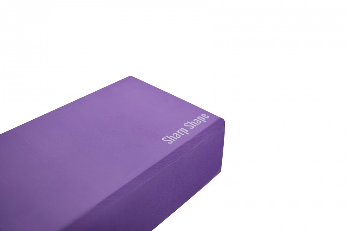 Sharp Shape Yoga block purple