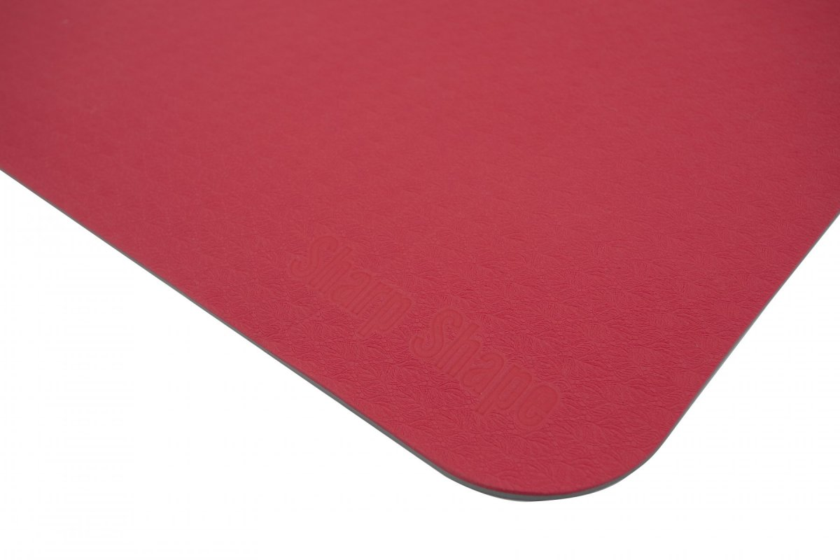 Sharp Shape Dual TPE yoga mat red