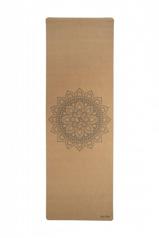 Sharp Shape Cork travel yoga mat Mandala