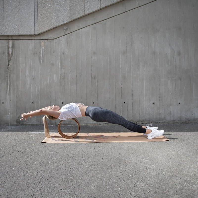 Sharp Shape Cork yoga wheel