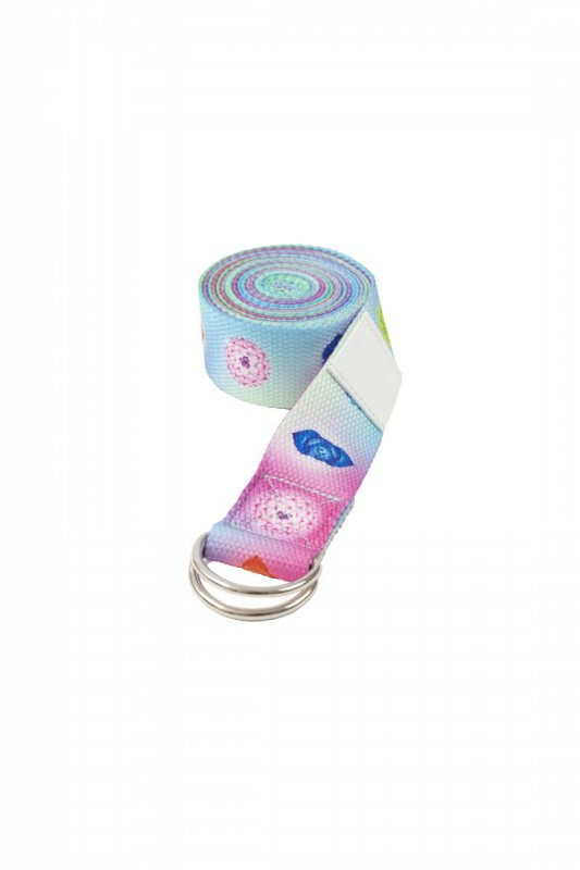 Sharp Shape Yoga strap Rainbow