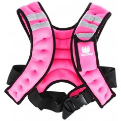 Sharp Shape Weight vest Pink