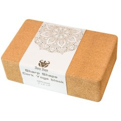 Sharp Shape Cork Yoga block