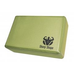 Sharp Shape Yoga block green