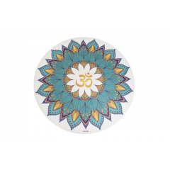 Sharp Shape Round yoga mat Mantra