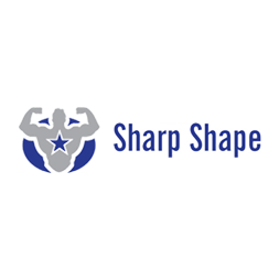 Sharp Shape Dual TPE yoga mat grey