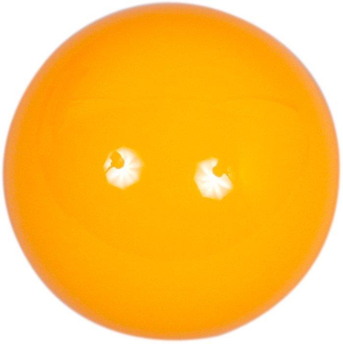 Samostatná guľa Aramith na snooker 52.4mm žltá