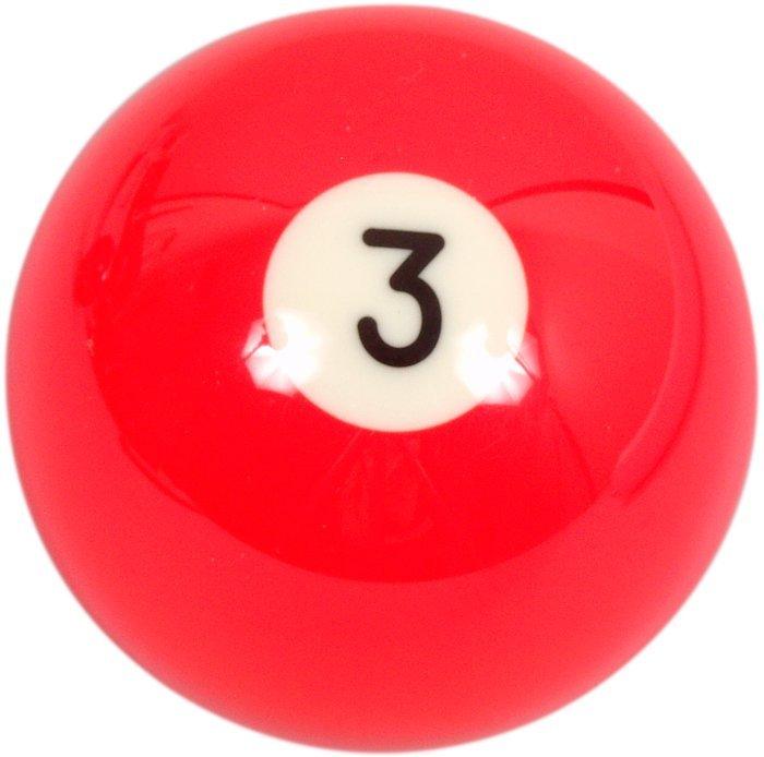 Biliardová guľa Aramith č.3 veľkosť 57.2mm