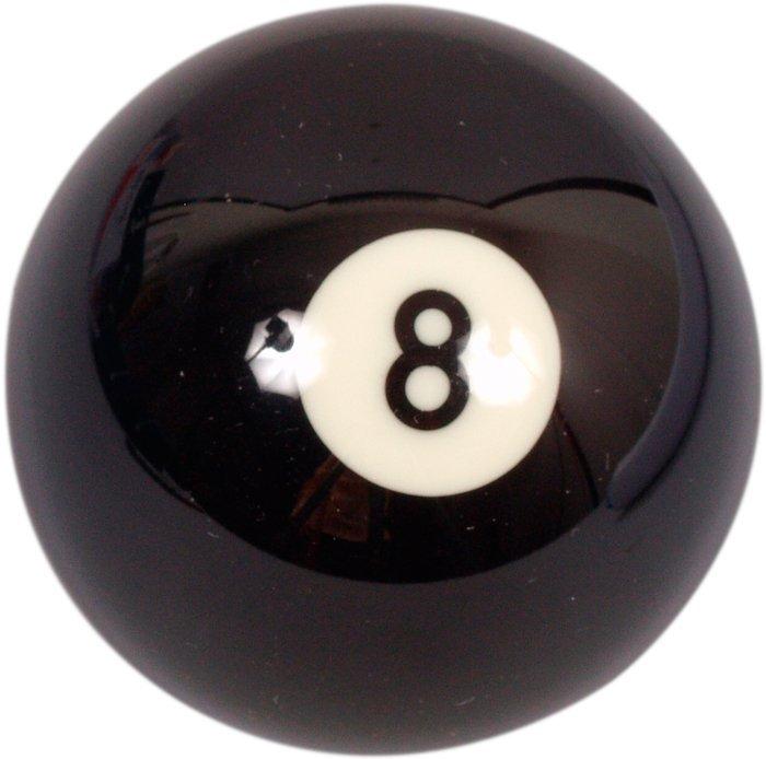 Biliardová guľa Aramith č.8 veľkosť 57.2mm