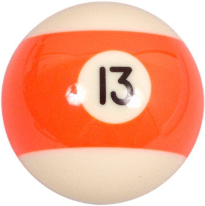 Samostatná guľa č.13 Aramith na biliard 57.2mm