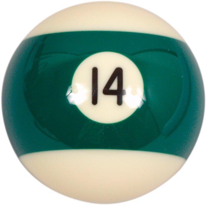 Samostatná guľa č.14 Aramith na biliard 57.2mm