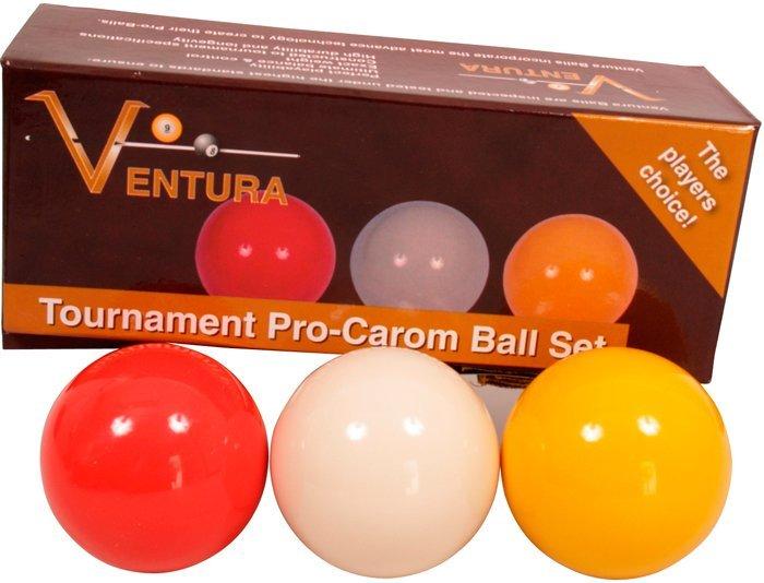Karambolové gule Ventura Tournament Pro 61.5mm