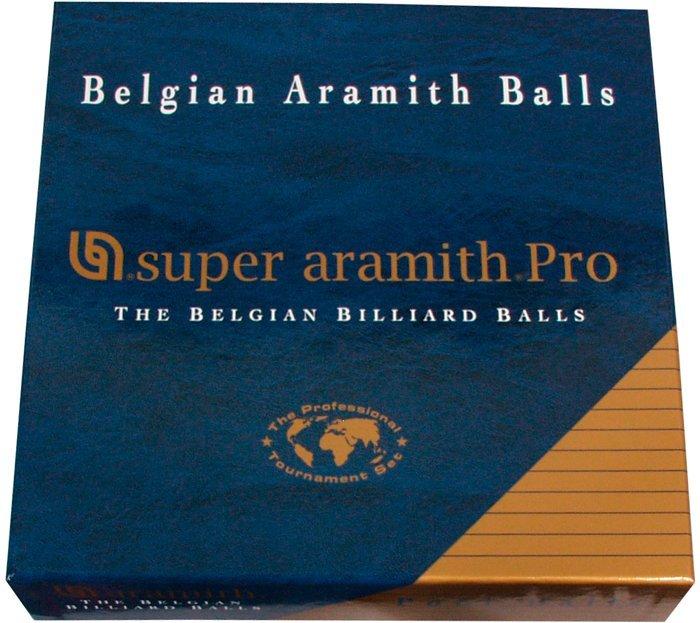 Biliardové gule Super Aramith Pro set 57,2mm