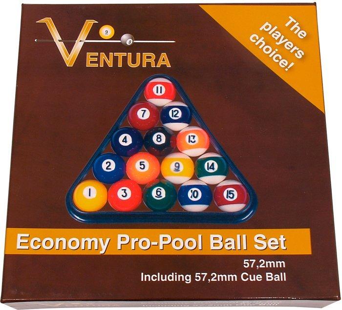 Biliardové gule sada Ventura Economy Pro 57.2mm