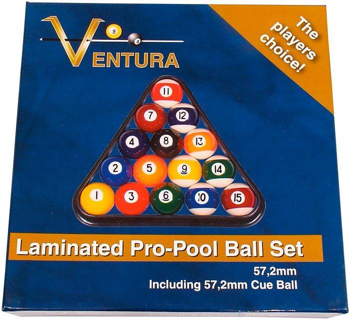 Biliardové gule Ventura Laminated Pro Set 57.2mm