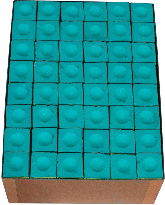 Biliardové kriedy Master 144ks zelené