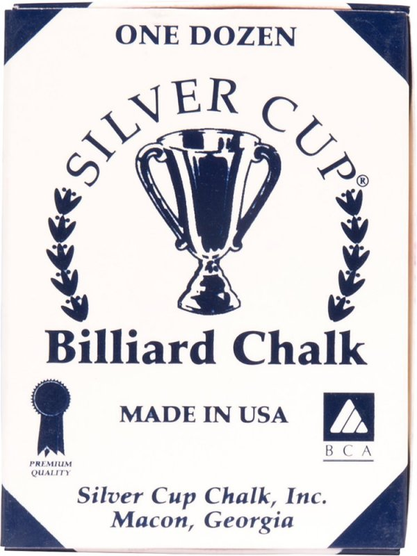Biliardové kriedy Silver Cup 12ks Red