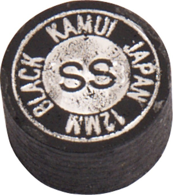 Koža na tágo Kamui Black Super Soft 12mm