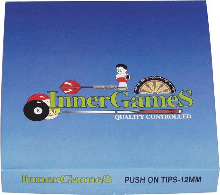 Nasúvacie špičky na tágo Innergames 11mm 100ks