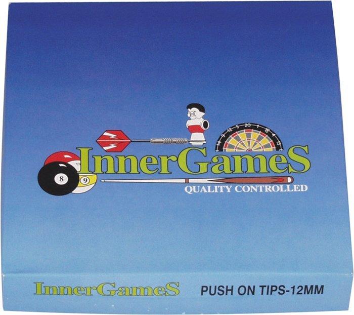 Nasúvacie špičky na tágo Innergames 13mm 100ks