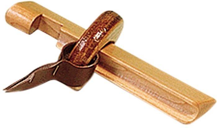 Držiak na lepenie špičiek drevený