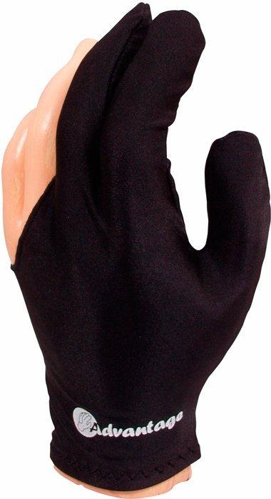 Biliardová rukavica Advantage čierna M