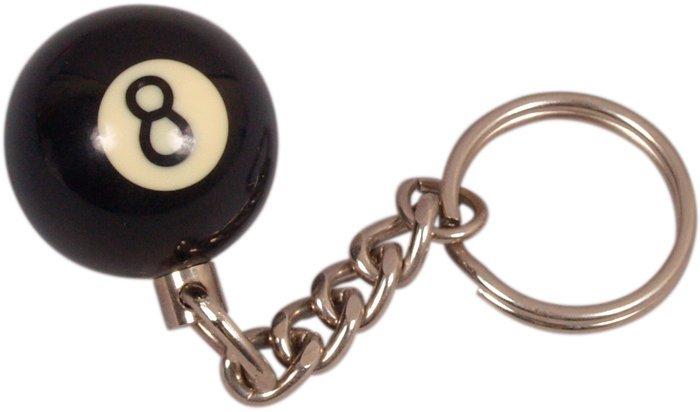Prívesok biliardová guľa č. 8