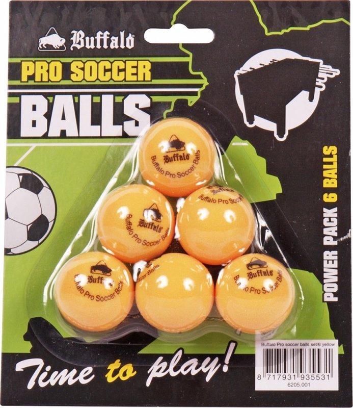 Lopty Buffalo Pro Soccer Oranžová 6ks
